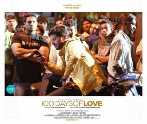 100 Days Of Love-Review-Rating-MP3-Video-Song-Stills-Dulquer Salmaan-Nithya Menon-Onlookers Media