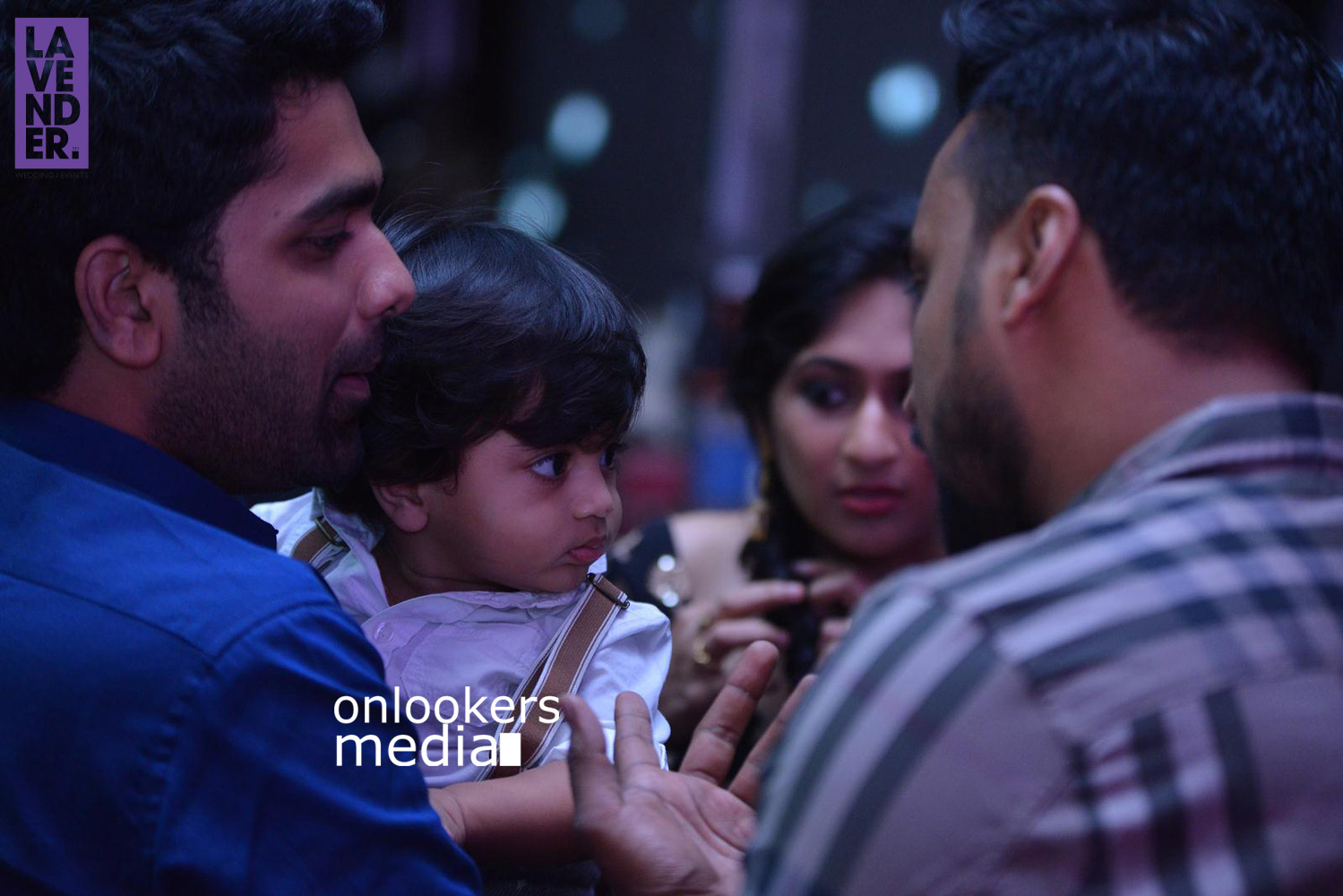 Asif Ali with wife Zama and Son Adam Asif Ali at Kohinoor audio