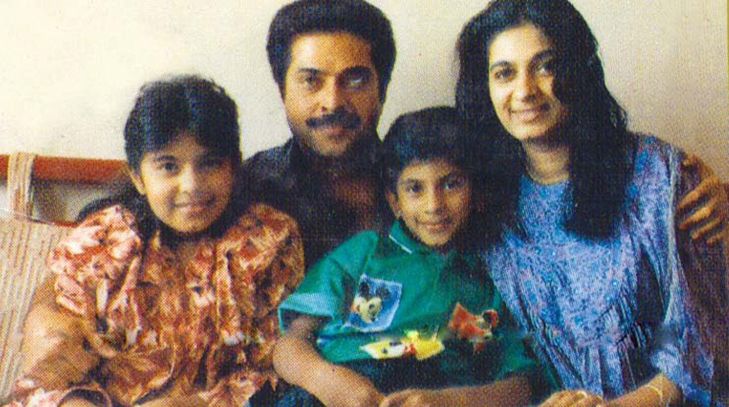 mammootty family photoswife daughter son onlookersmedia